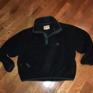 Woolrich Shirts - Men's vintage black green fleece Woolrich xxl 2xl